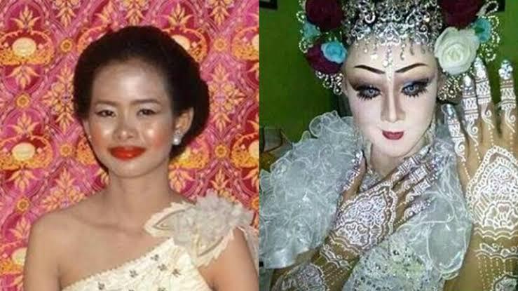 Awas Salah Pilih Tukang Make Up, Viral Pengantin Gagal Cantik Sebab MUA Abal-abal