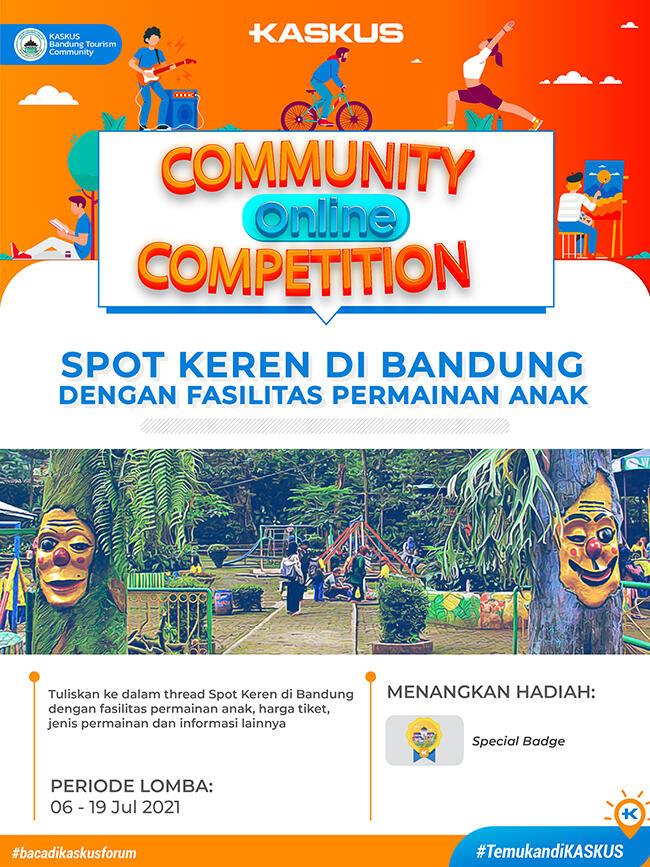 [COC]Spot Keren di Bandung dengan Fasilitas Permainan Anak