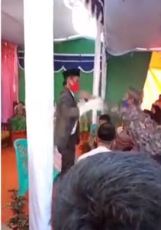 Pesta Nikah Jadi Medan Pertempuran, Usai Pengantin Wanita Ditalak Pas Ijab Kabul!