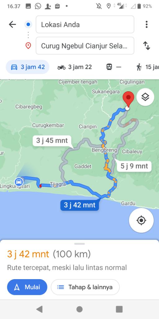 Nikmati Keindahan Curug Ngebul Pagelaran, Cianjur Selatan Bersama Smartfren Unlimited