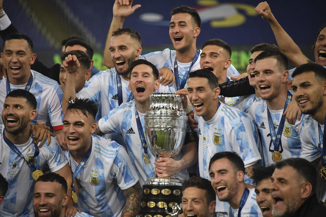 Kegilaan Lionel Messi Berhasil Bikin Argentina Juara Copa America 2021