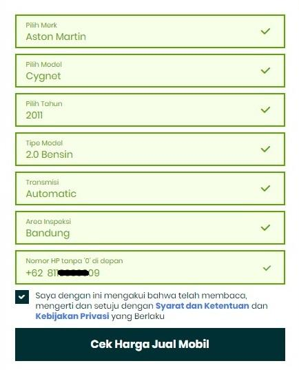 UX of OLX AUTOS Website