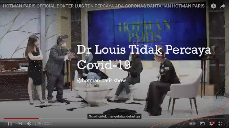 Viral, dr Louis Owien Tak Percaya Covid!! Apa Akan Ada Jerinx Jilid Dua?