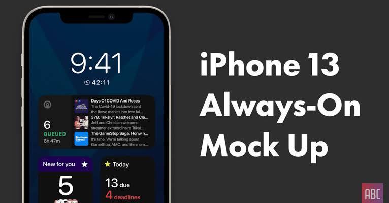 """iPhone 13 Akan Dilengkapi Fitur """"Always-On Display"""", Apa Sih Kelebihannya?"""