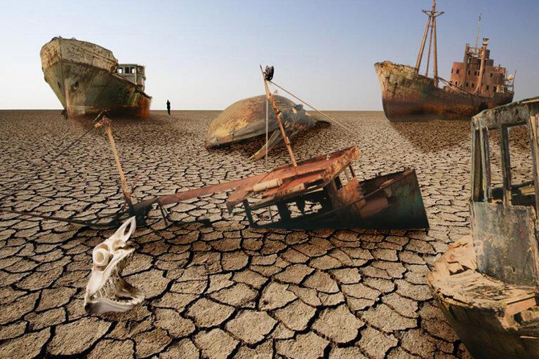 Apa jadinya jika laut tiba-tiba kering?