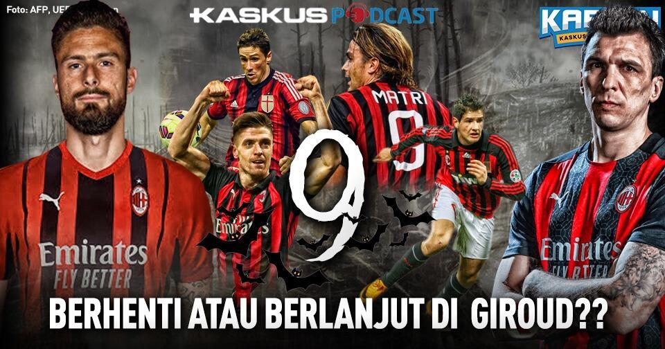 Olivier Giroud Bisa Jadi Pemutus Kutukan Nomor 9 di AC Milan