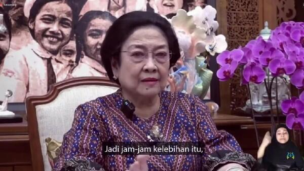 Megawati Beri PR di Hari Anak Nasional: Dari Mana Kah Asal Kodok?