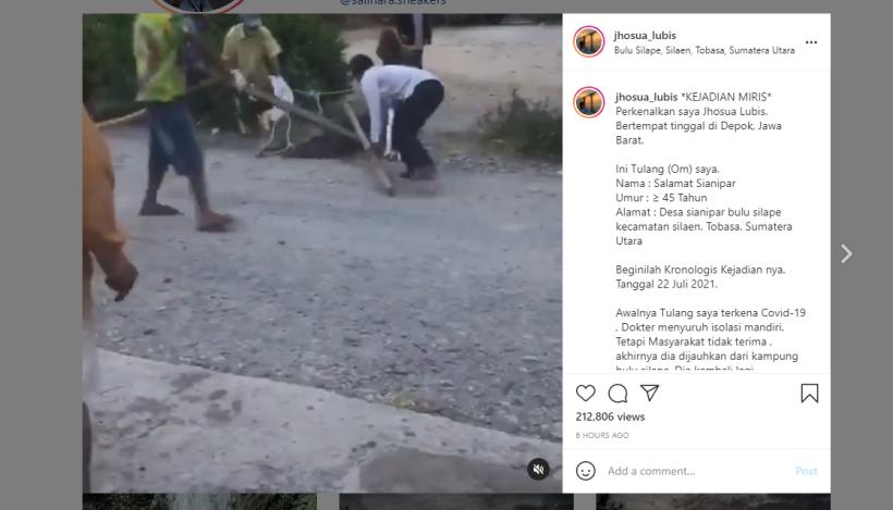 Pria di Desa Sianipar Diikat dan Dipukuli Hanya Karena Positif Covid-19, Sadis
