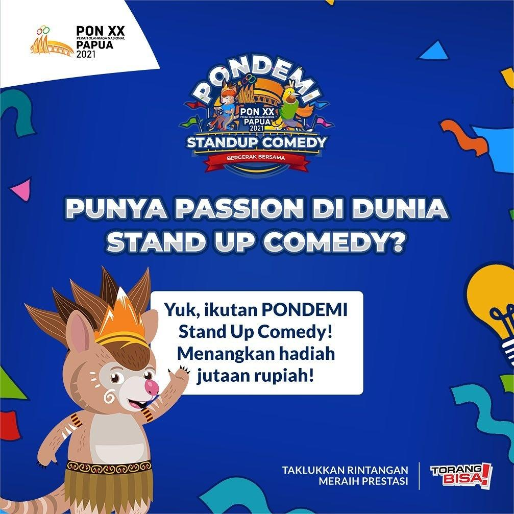 Yuk Ikutan! PONDEMI Stand Up Comedy!