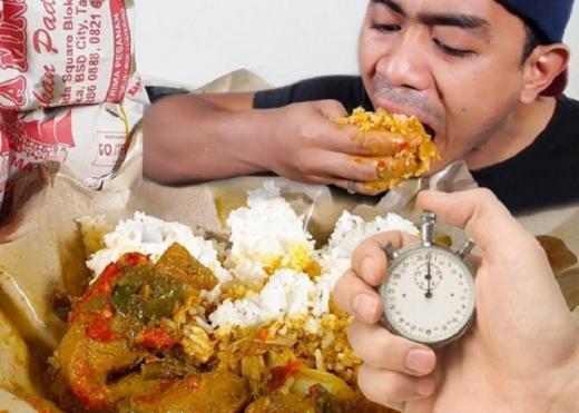 Muncul Parodi Makan di Tempat Dibatasi Waktu 20 Menit Saja, Apakah Ada yang Salah?