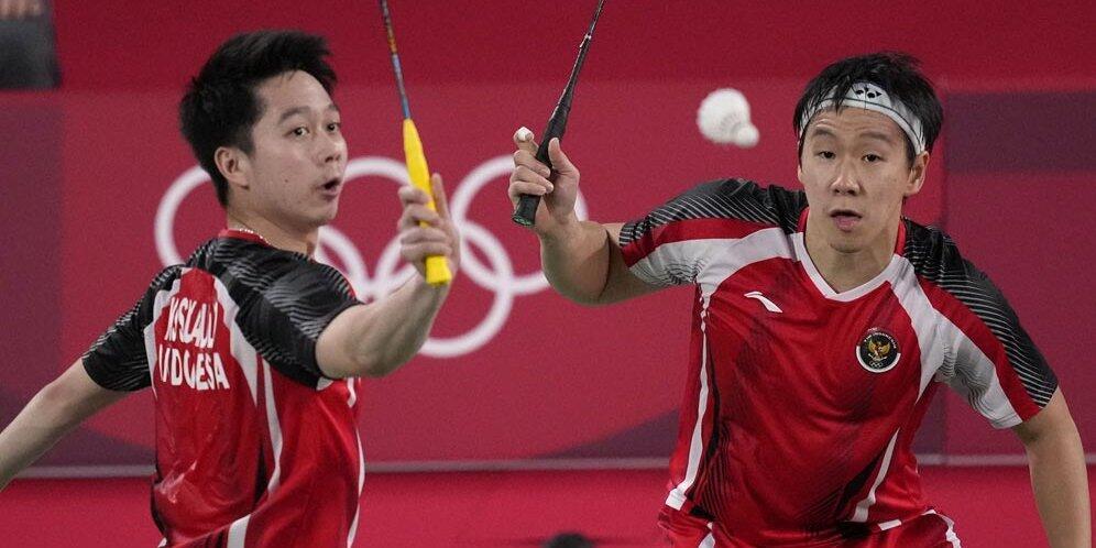 Beda Nasib Kevin/Marcus dan Greysia/Apriyani di Olimpiade Tokyo 2020