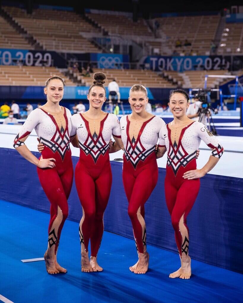 Biasa Tampil Seksi, Tim Olimpiade Senam Jerman Bikin Si Otak Mesum Kecewa