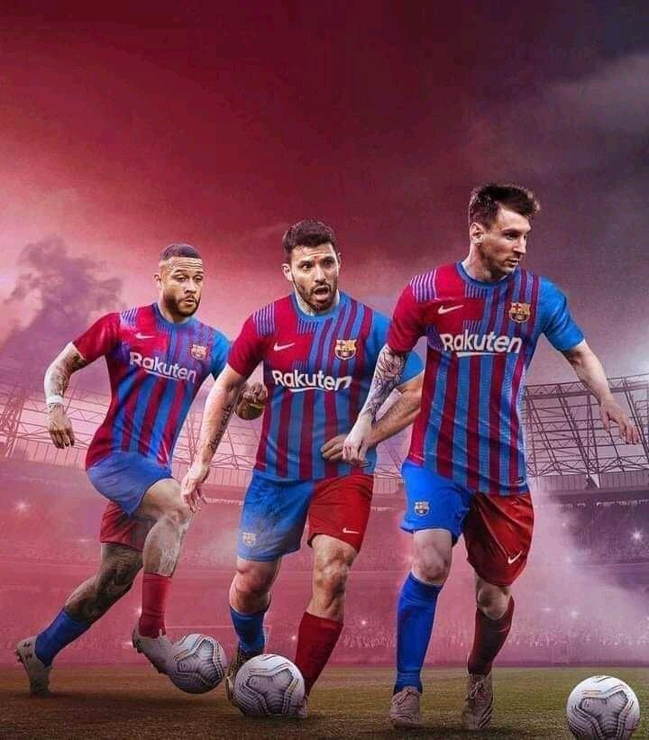 Setelah Messi-Neymar-Suarez Muncul Messi-Aguero-Depay?