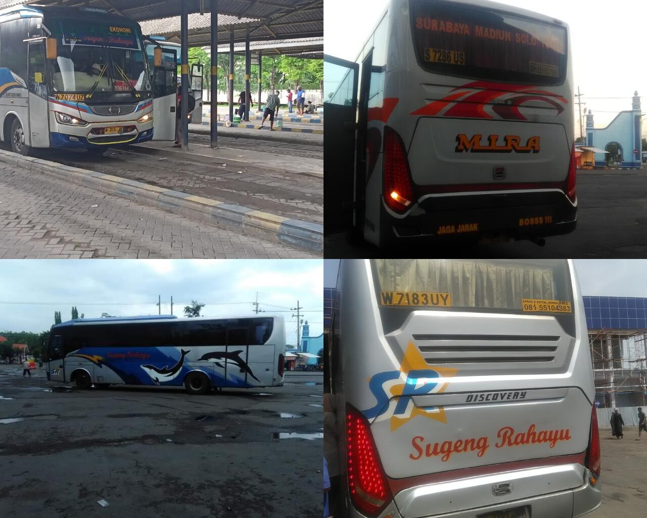 7 Ciri Khas Bus Ekonomi di Jalur Surabaya-Jogja