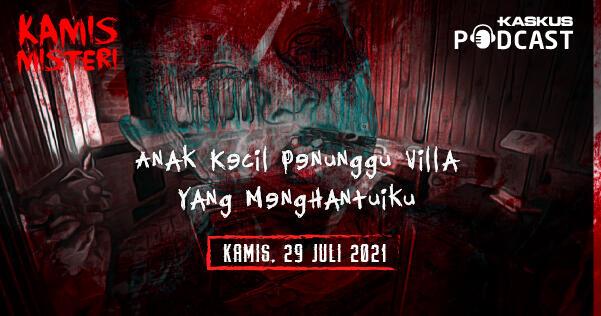 Penampakan Anak Kecil Penunggu Villa di Lembang Bandung