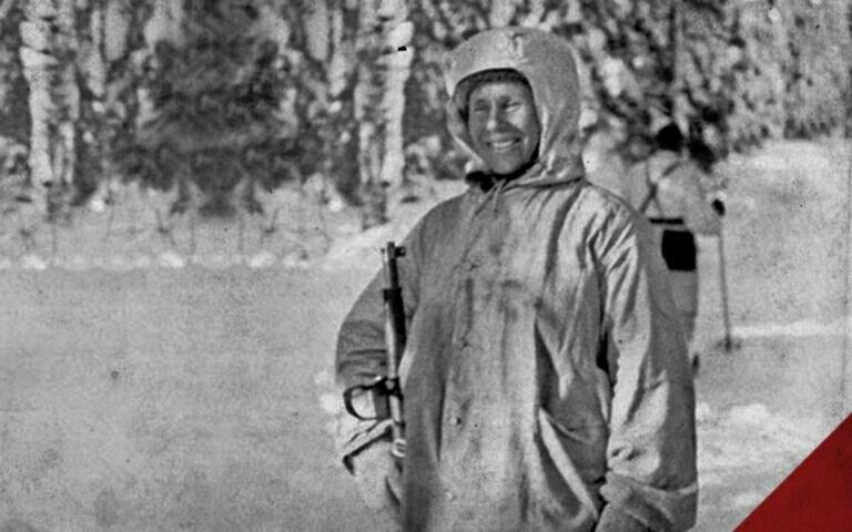 """Dijuluki """"The White Death"""", Simo Häyhä Pahlawan Finlandia Tewaskan 505 Tentara Soviet"""