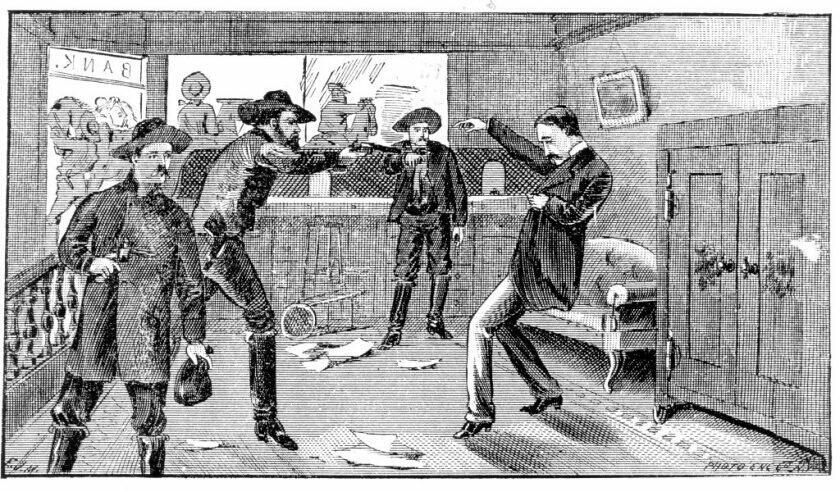 Jesse James Bandit Berdarah dan Penjahat Amerika