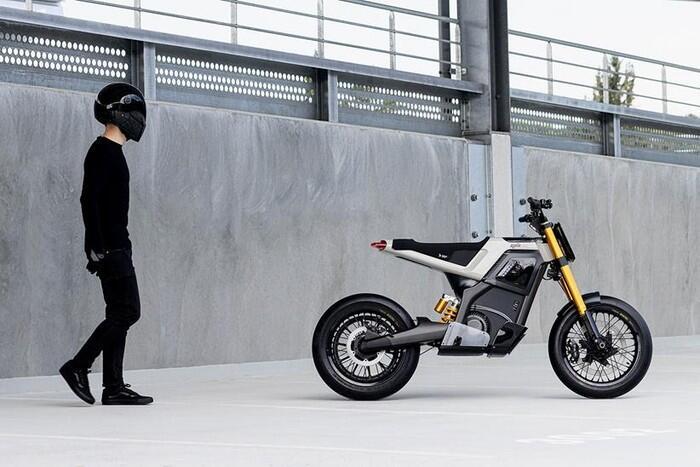 DAB Concept – E, Motor Listrik dengang Penggabungan Roadster dan Supermoto