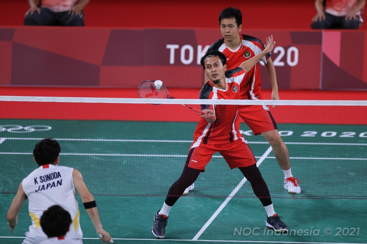 Lolos Ke Semi Final Olimpiade Tokyo 2020, Ini Strategi Ahsan/Hendra