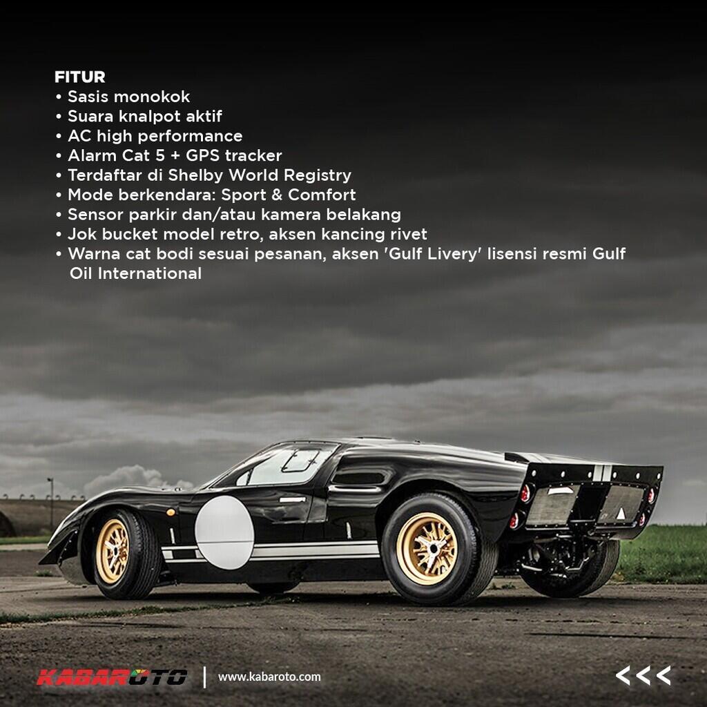 Everrati Perkenalkan Ford GT40 Legendaris Dengan Mesin Listrik