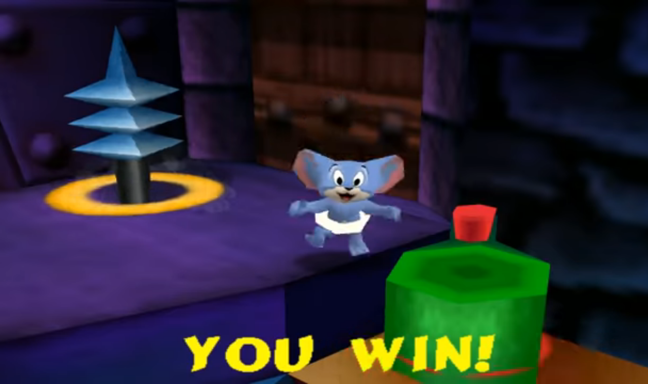 Tom and Jerry in Fists of Furry : game Gelud Tom and Jerry