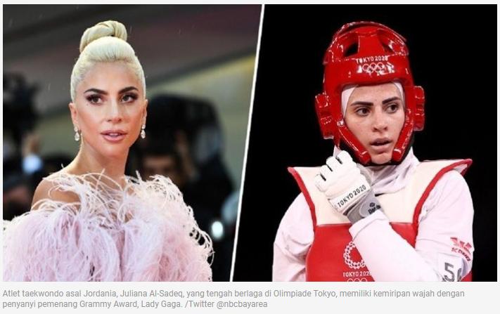 Ngapain Lady Gaga Ikut Olimpiade Tokyo ? Nggak Salah Lihat Tuh ?