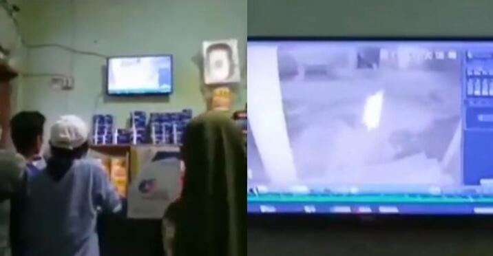 Heboh Sosok Mirip Kuntilanak Terekam CCTV dan Teror Warga, Benarkah Penampakan?