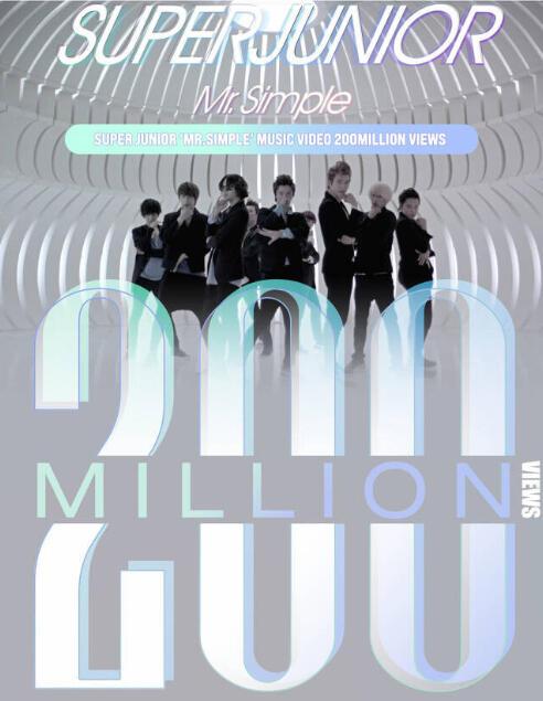 Music Video 'Mr Simple' Super Junior Capai 200 Juta View di Youtube