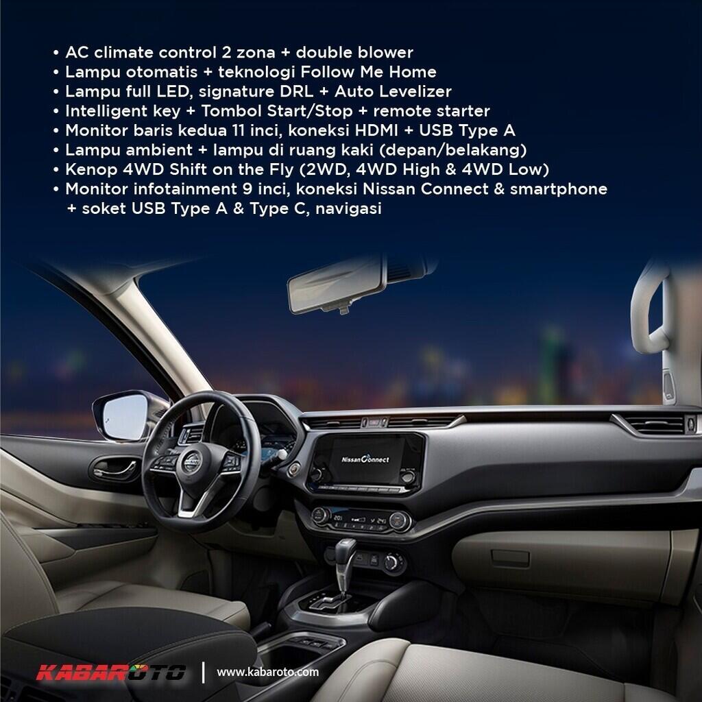 Segera Debut Di Thailand, Ini Spesifikasi Nissan Terra Terbaru