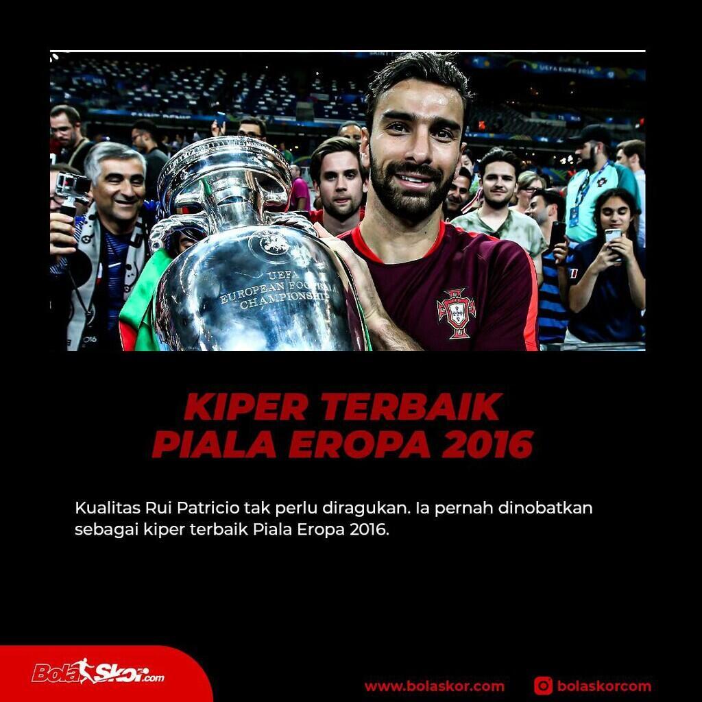 5 Fakta Menarik Tentang Rui Patricio, Rekrutan Pertama Mourinho di Roma