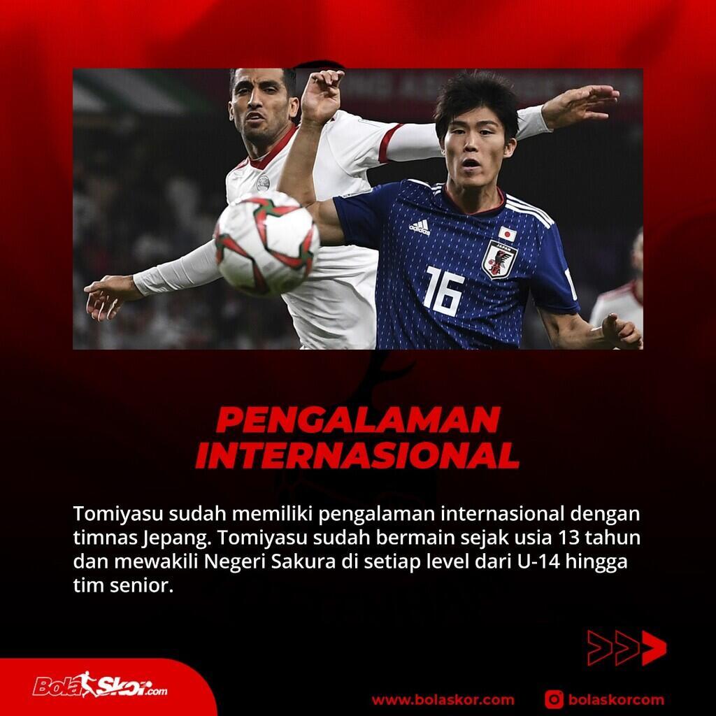 5 Hal Mengenai Takehiro Tomiyasu, Bek Jepang Bidikan Tottenham Hotspur
