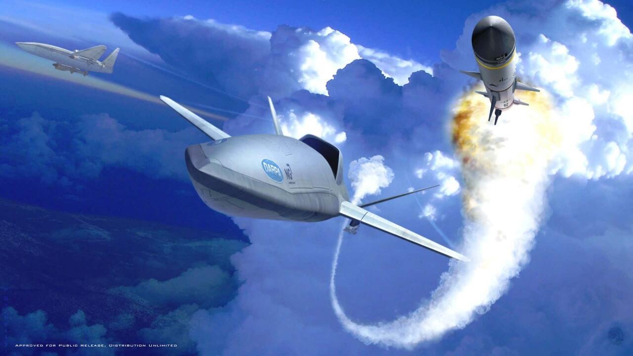 LongShot - Dirancang Untuk Meringankan Tugas Pilot Pesawat Tempur di Masa Depan