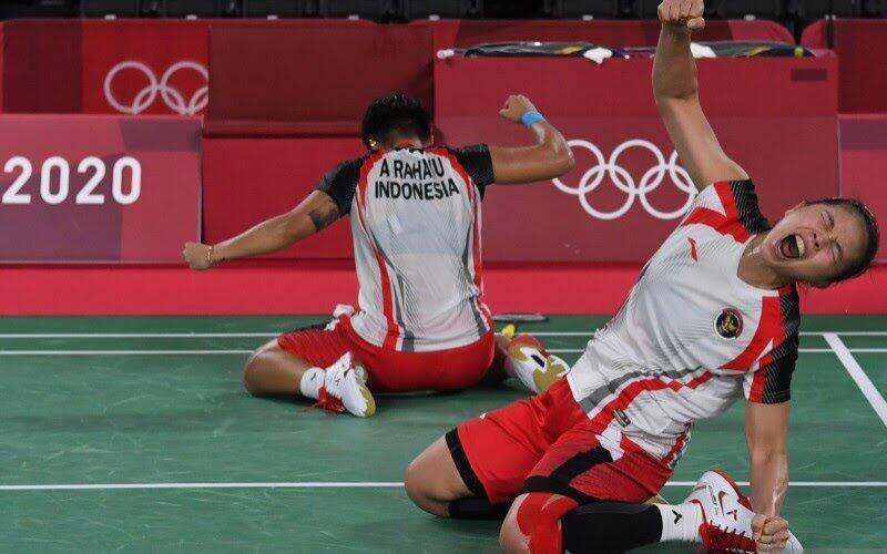 Greysia/Apriyani Sabet Mendali Emas Olimpiade Tokyo 2020, Sekaligus Pecahin Rekor!