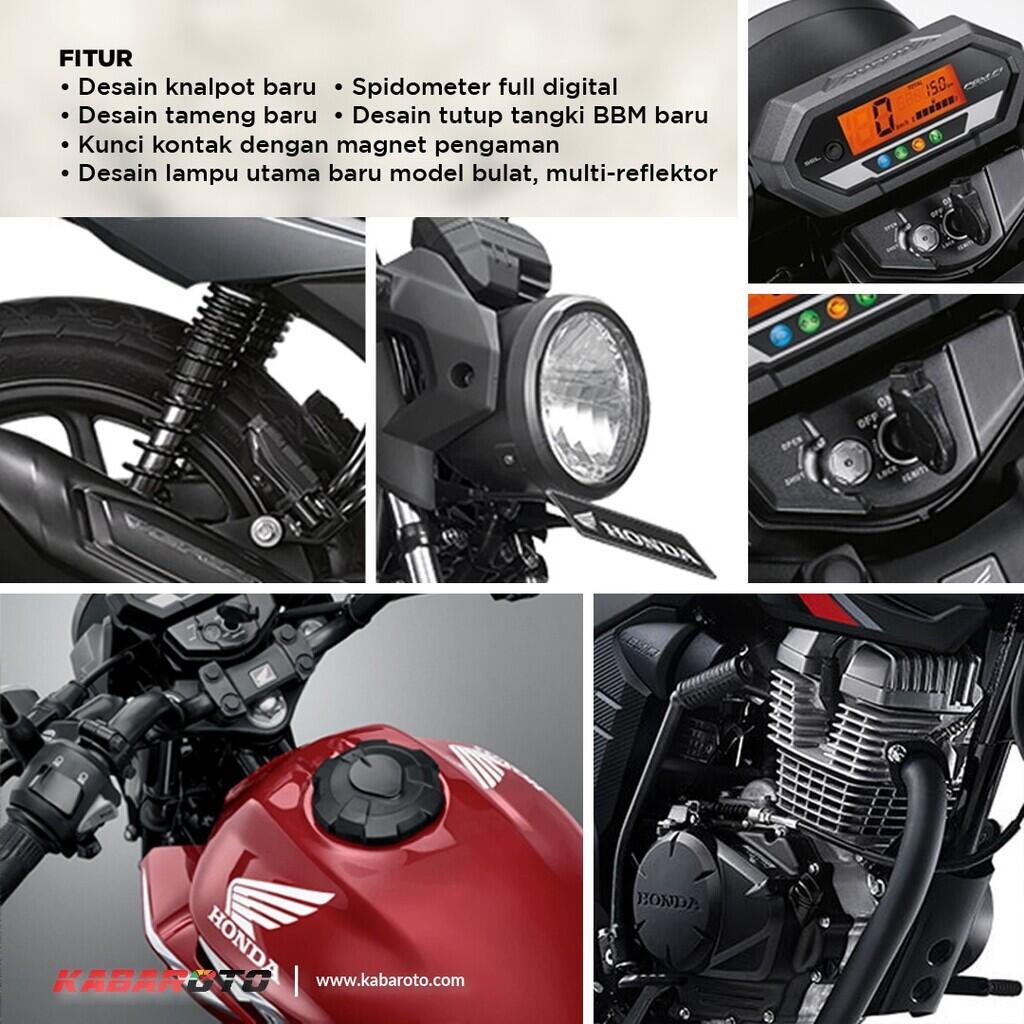 Honda New CB150 Verza Bersolek, Lebih Gagah Dan Macho
