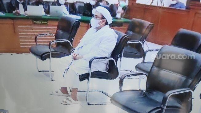 Putusan Pengadilan Tinggi DKI: Habib Rizieq Tetap Dihukum 8 Bulan Penjara