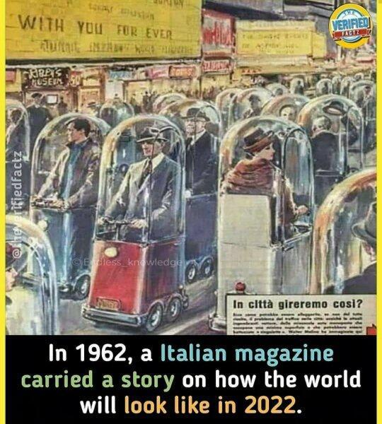 Majalah 'KUNO' Tahun 1960-an Gambarkan Pandemi Covid19 Dan Social Distancing?
