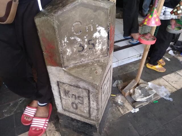 "Titik Nol Kilometer di Beberapa Daerah ""Ciayumajakuning"" Jawa Barat"