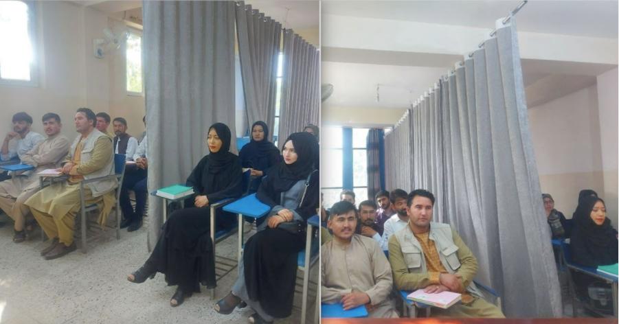 Mahasiswa & Mahasiswi di Afghanistan Dipisah Sesuai Gender, di Indonesia?! Banyak.
