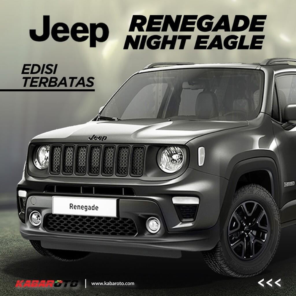 Jeep Renegade Night Eagle, Hanya 350 Unit