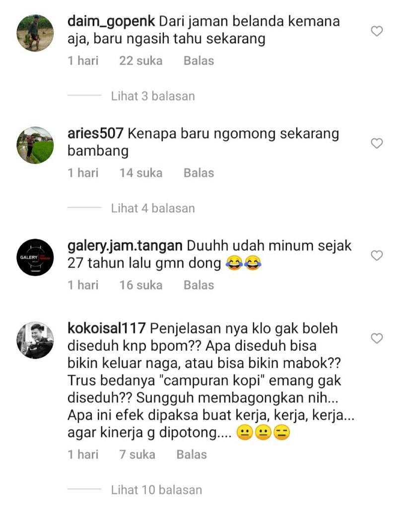 Gara-Gara SKM Tak Boleh Diseduh, Netizen Pada Ribut