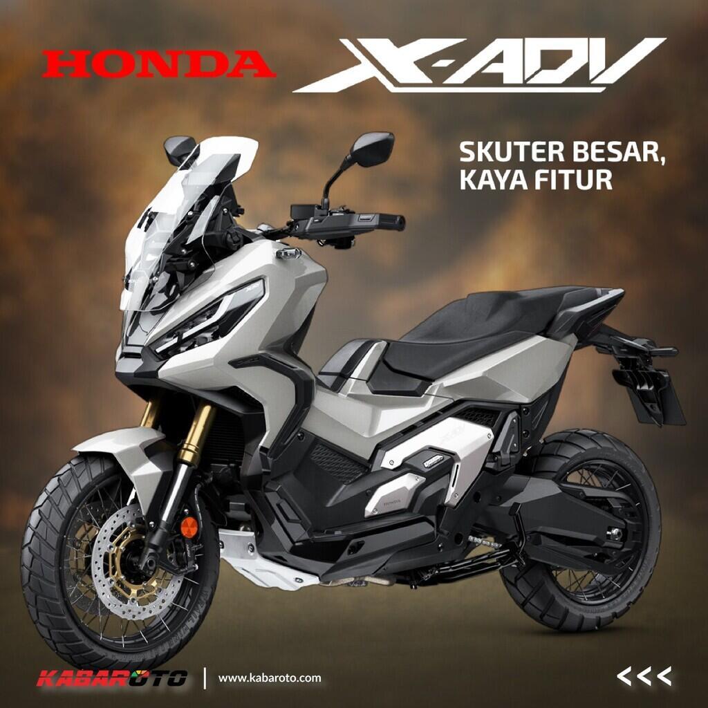 Honda X-ADV Terbaru Sudah Rilis Harga