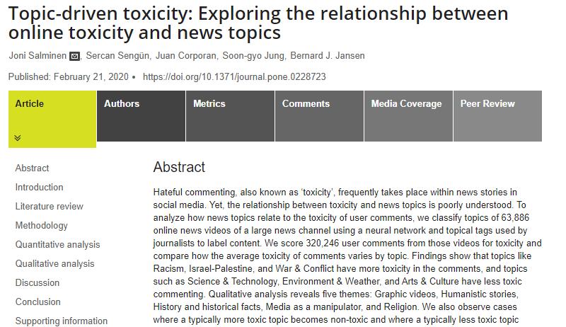Sudut Pandang Psikologi : Mengapa di Sosial Media Banyak Sekali Komentar Toxic?