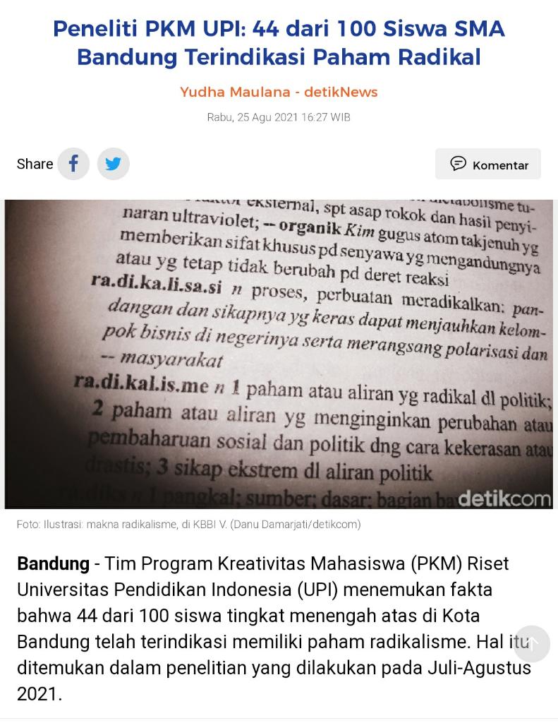 Letjen TNI Dudung: Hindari Fanatik Berlebihan Terhadap Agama!