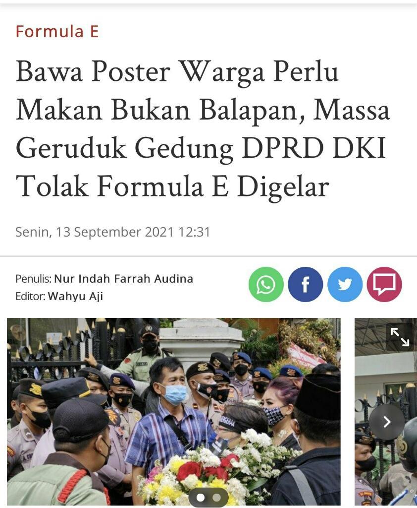 PKS Sesumbar Anies Baswedan Gelar Formula E Tanpa APBD, Pengamat: Jangan Halusinasi