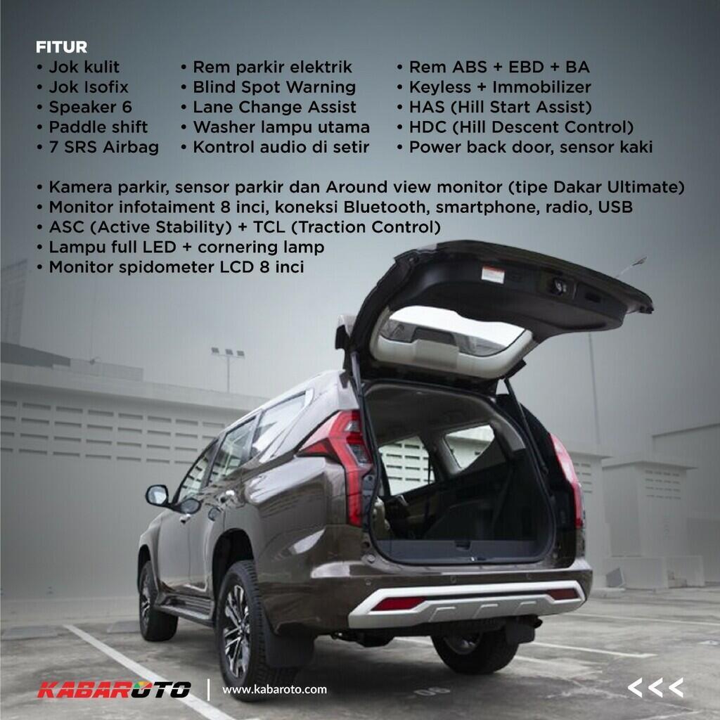 Profil - New Mitsubishi Pajero Sport
