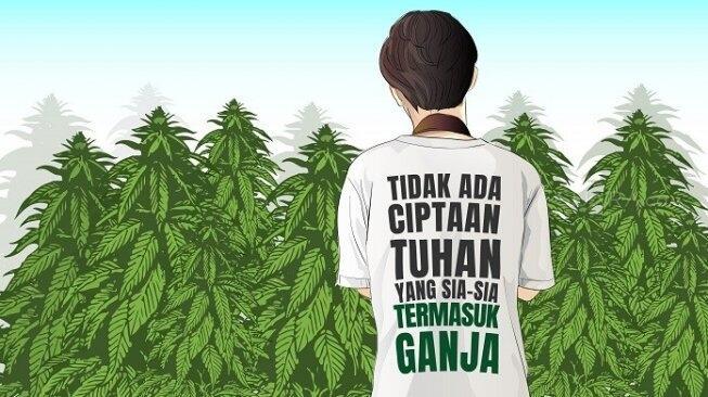 Kaum Ibu di Indonesia: Demi Obat Anak-anak Kami, Tolong Legalkan Ganja