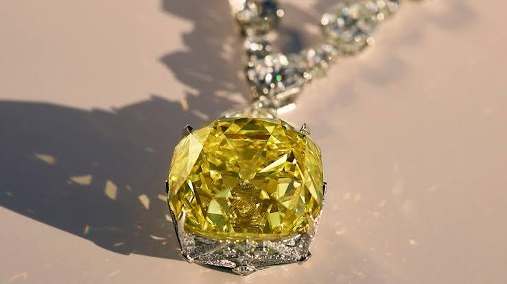 Tiffany Diamond Adalah Berlian Langkah Yang Harganya Selangit, ini Yang Punya