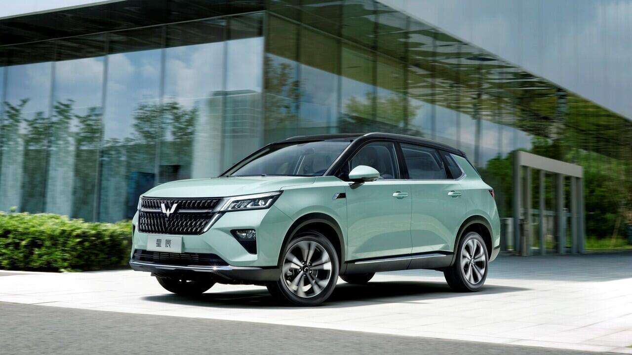 Wow, Wuling Asta, SUV Baru dengan Logo Global Silver