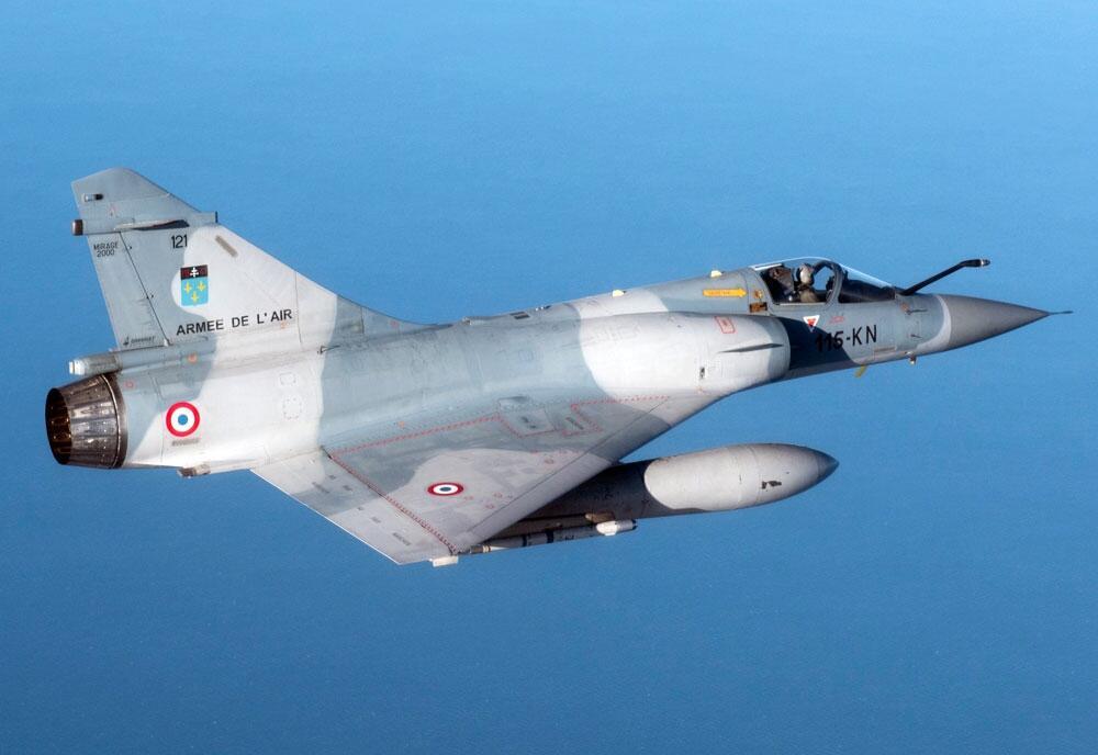 India Membeli 24 Jet Tempur Mirage 2000 Bekas Prancis