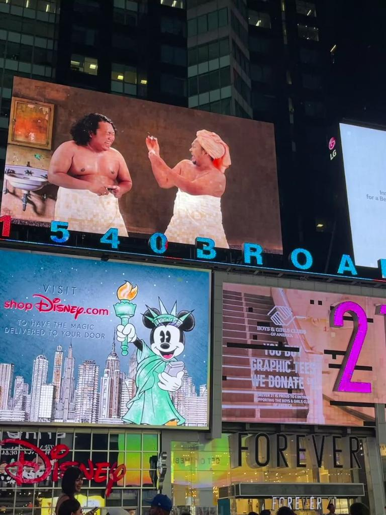 Artis Indonesia Muncul Di Billboard Times Square! Bangga Atau Biasa Saja?
